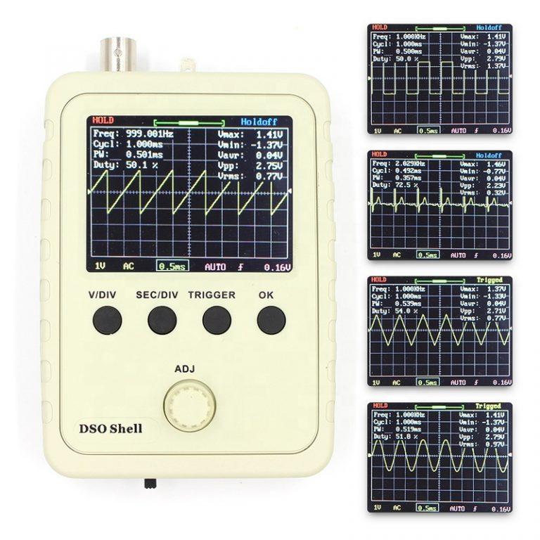 low-cost basic digital oscilloscope