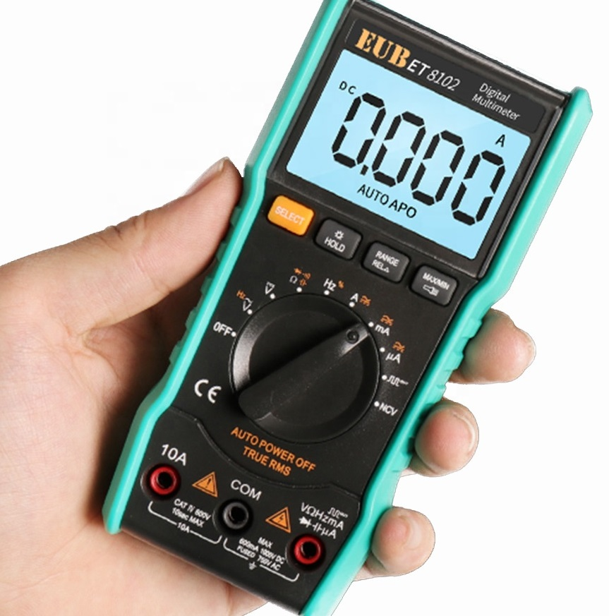 auto-ranging AC/DC digital multimeter